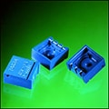 Examples of small molded rotor housing for a surface-mount electronic application.