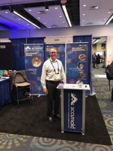 Rick Brown At FIO+LS Optics show In Washington D.C.