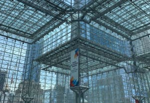 MD&M East Lobby at Jacob K. Javits Convention Center in New York City