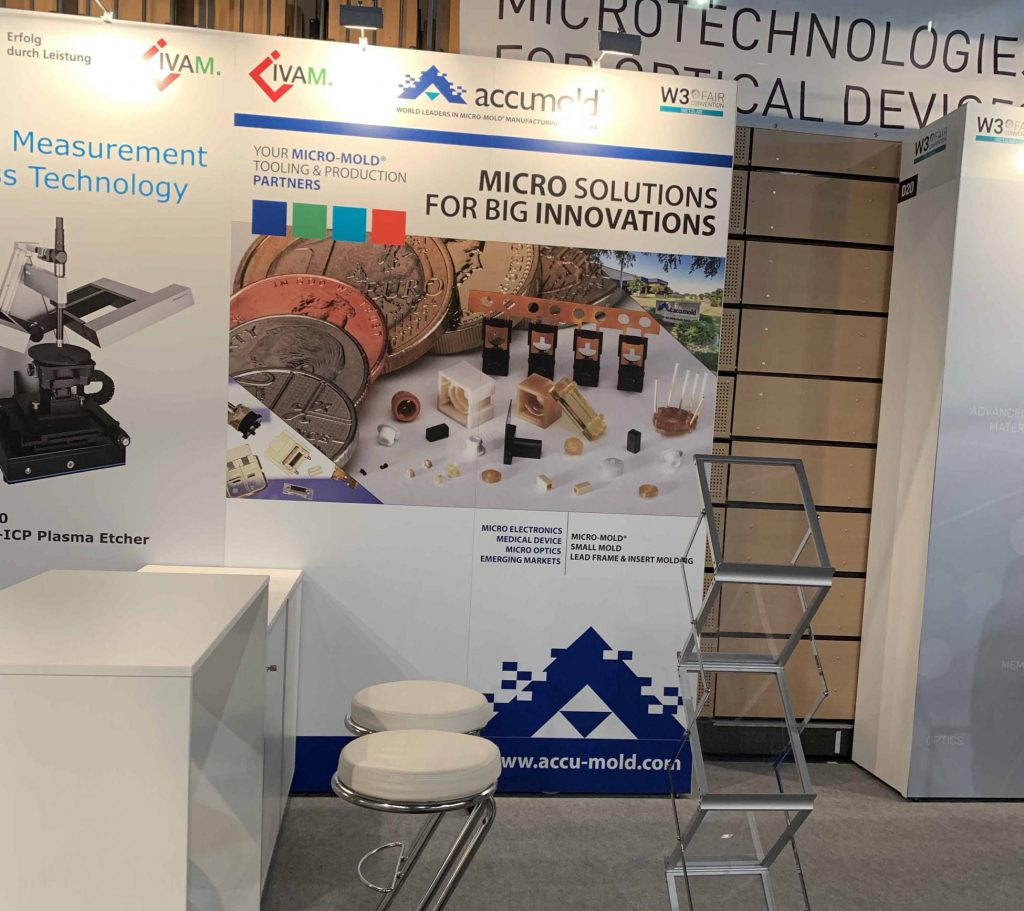 Accumold at W3 Conference In Germany